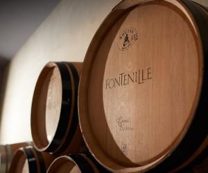Weinfass Domaine de Fontenille