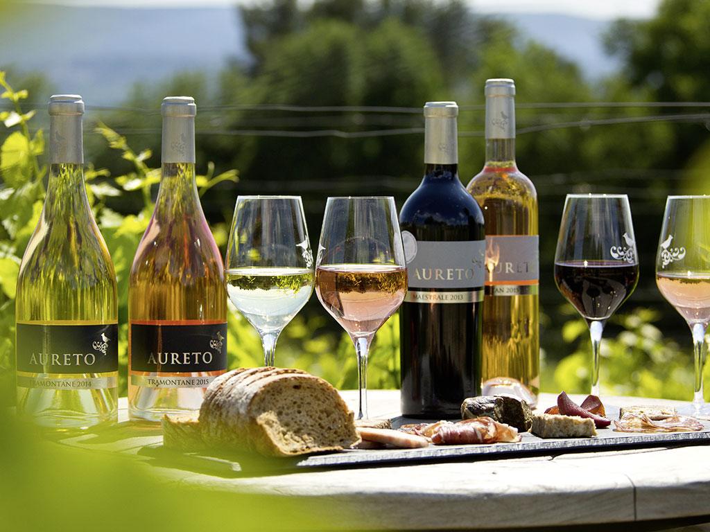 Aktuelle Presseberichte zu Aureto Wein