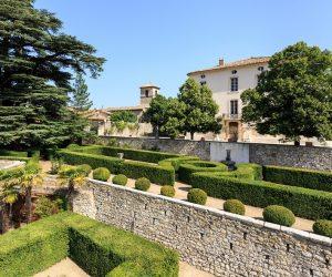 Garten und Schloss Ollières