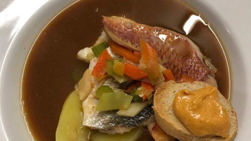 Provence Wein Bouillabaisse-Abend
