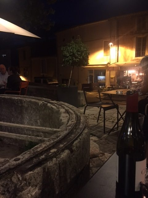 Provence Wein im Le Fournil in Bonnieux