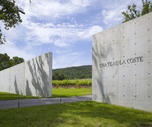 Tadao Ando. Gate(c)Chateau la Coste. Photographe Andrew Pattman 2017