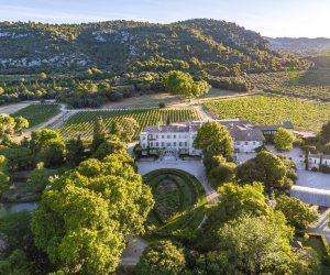 Château d'Estoublon - Luftbild 2